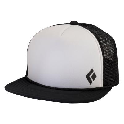 969fc8866daa9 ... Black Diamond Flat Bill Trucker Hat. Black Black