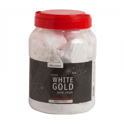 Black Diamond White Gold Refillable Chalk Canister - 300 gm