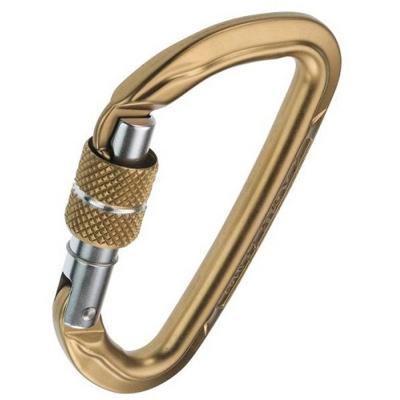 CAMP Orbit Screw Lock Carabiner - Bronze