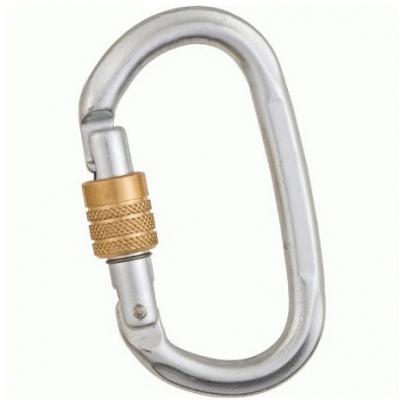 Kong Steel Locking Oval Carabiner