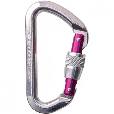 Omega Pacific Classic Screw-Lok Carabiner