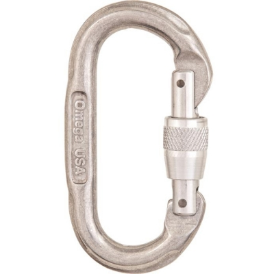Omega Pacific Screw-Lok Oval Carabiner