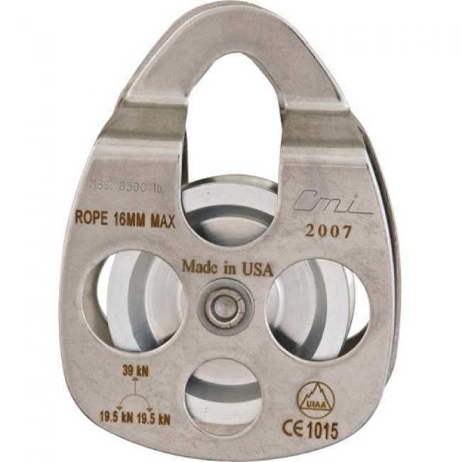 "CMI Original 2 3/8"" Stainless Steel Pulley with Bearing - RP104"