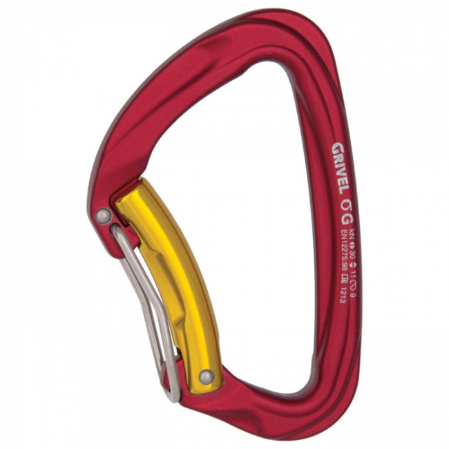 Grivel Sigma Wire Twin Gate Carabiner