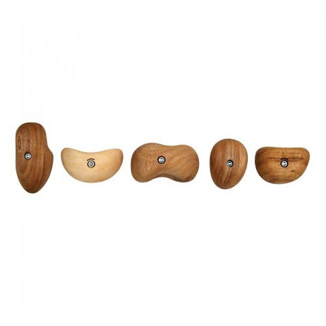 Metolius Wood Grips - Wooden Climbing Hold Set