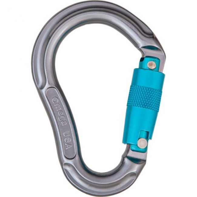 Omega Pacific Jake 3-Stage Quik-Lok Carabiner
