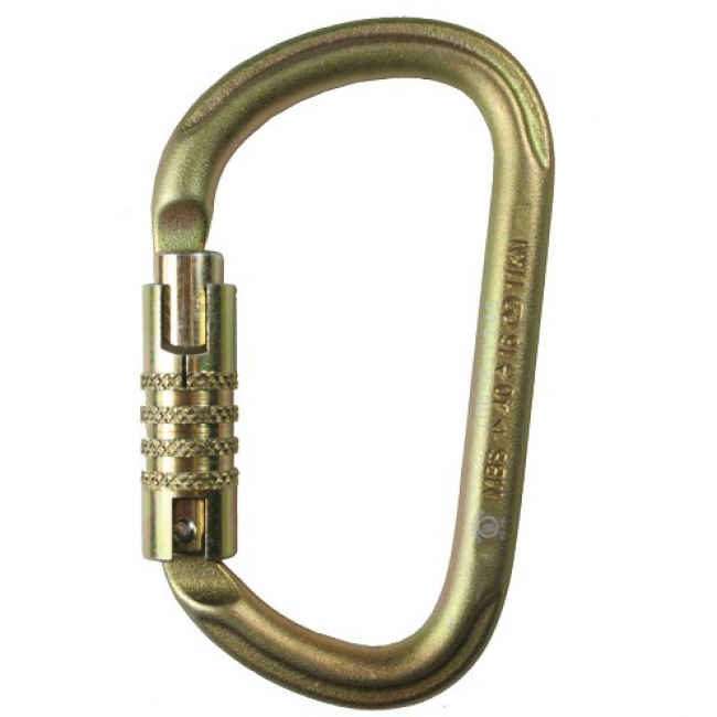 Petzl Vulcan Triact-Lock Steel Carabiner