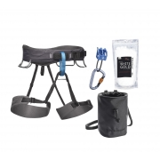 Black Diamond Momentum Harness Package Slate