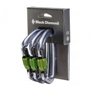 Black Diamond Positron Screwgate Carabiner - 3 Pack