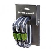 Black Diamond Positron Screwgate Carabiner - 3 Pack