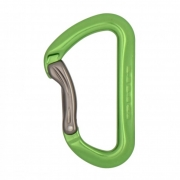 DMM AERO Bent Gate Carabiner - Green