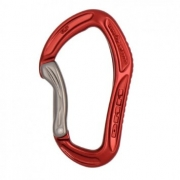 DMM Alpha Sport Pro Bent Gate Carabiner - Red