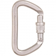 Omega Pacific D Screw-Lock Carabiner