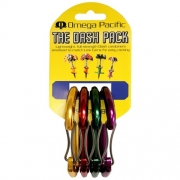 Omega Pacific Dash Wiregate Carabiner 4 Color Cam Pack