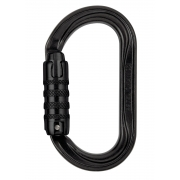 Petzl OXAN Steel Triact-Lock Carabiner - Black