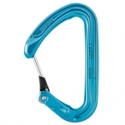 Petzl Ange L Wiregate Carabiner (Blue)