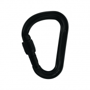 Petzl Attache Screw Lock Carabiner - Black