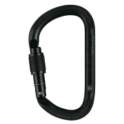 Petzl Vulcan Screw Lock Carabiner - Black