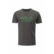 Rab Graphic T Map Logo