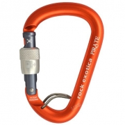 Rock Exotica Pirate Screw Lock Carabiner with Wire Eye